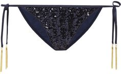 Agent Provocateur Zonia sequined bikini briefs on shopstyle.com Agent  Provocateur 484a2cc65