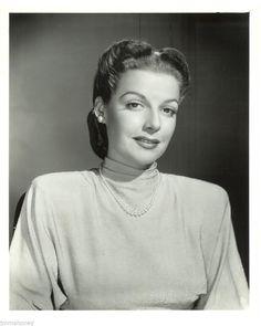 Ann Sheridan Superb Original Vintage 1940s Studio Portrait Photo Oomph Girl | eBay