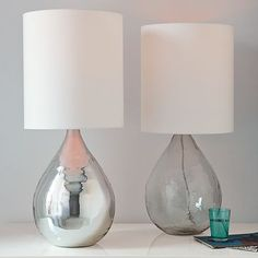 I love the Glass Jug Table Lamp on westelm.com