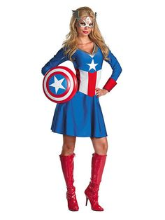 A Girl's Guide to Creating a Captain America Costume