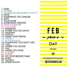 February 2013 Photo A Day Photo by fatmumslim