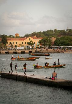 "The island of Gorée lies off the coast of Senegal, 3km from Dakar. From the 15th to the 19th century, it was a large slave-trading centre on the African coast.  Today, the island serves as a museum and memorial to the Atlantic slave trade housing the Maison des Esclaves and Door of No Return. The ""memory island"" serves as a popular pilgrimage destination for the African diaspora as well as a reminder of human exploitation and as a sanctuary for reconciliation."