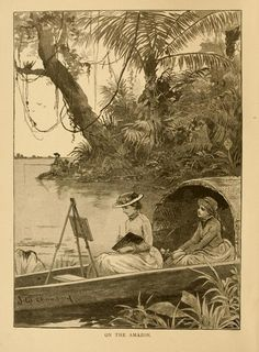 Elizabeth W. Champney, Three Vassar girls in South America: a holiday trip of three college girls through the southern continent, up the Amazon, down the Madeira, across the Andes, and up the Pacific coast to Panama (1885)