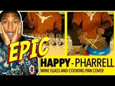 """Awesome video of """"Happy"""" by Pharrell Williams played on wine glasses!"""