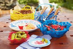 Ashland™ Summer Entertaining Nantucket Collection