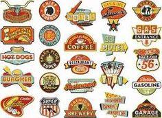 """Résultat de recherche d'images pour """"vintage logo 50's hell's kitchen"""""""