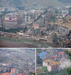 Ravaged by the Sichuan earthquake of 2008, the tragic city of Beichuan has become one of Asia's modern day ghost towns.