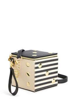 Betsey Johnson Roll With the Poshes Bag. Your bestie left ladies night plans pretty open-ended, but youre not too worried, for youre carrying this lined, structured bag by Betsey Johnson!  #modcloth