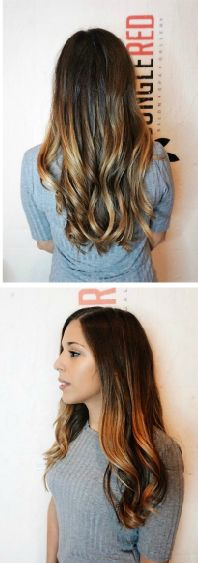 How cool is this look? Visit us today for a new fall look!