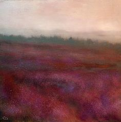 Morning Mist And Bog Heather II by John O'Grady on ArtClick.ie    Irish Art