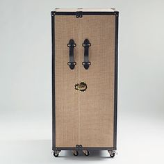 Clyde Steamer Trunk Bar | World Market - The infamous Clyde Trunk Bar! So chic, so classy, and so so charming - would fit perfectly in our 1920s home with the built in cabinets :)