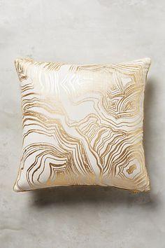 Gleaming Rings Pillow