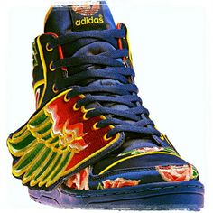 new concept 71f0f 725a7 JS Adidas Wing Shoes, Adidas Shoes Outlet, Jeremy Scott Adidas, Adidas  Design,