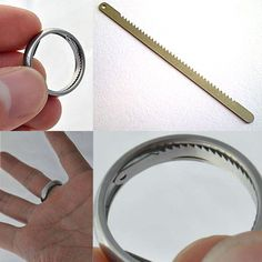 Titanium Escape Ring $80