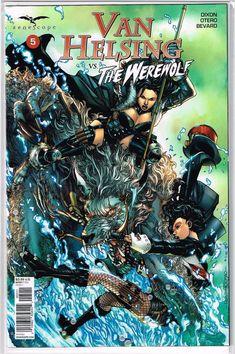 5A cover ~ Zenescope comic ~ Van Helsing Hellchild #5