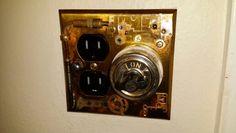 Steam Punk light switch