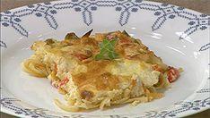 Από την Φρόσω Βαμβακίδου Ημερομηνία προβολής 23/04/2013 –Πατήστε εδώ για να δείτε το video της εκπομπής ΥΛΙΚΑ 500 γρ. κοτόπουλο φιλέτο 500 γρ. λιγκουίνι 1 πιπεριά κόκκινη 1 πιπεριά πράσινη 1 πιπεριά κίτρινη 1 φλ. κρέμα γάλακτος 1 σκελ. σκόρδο 1 σφην. ούζο 3 κλων. φρέσκο θυμάρι Ελαιόλαδο Άλτις Αλάτι – πιπέρι Για την μπεσαμέλ: … Mothers Day Brunch, Lasagna, Pesto, Sunday, Dinner, Cooking, Ethnic Recipes, Food, Kitchens