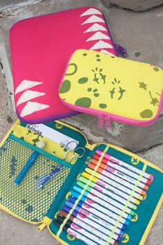 Back to School Sewing - Creative Maker Supply Case PDF Pattern from SewSweetness