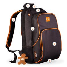 "Carri Collection, Backpacks  ""carri one give one""  for every backpack sold we donate one to a child in need in the USA www.carribackpack.com"
