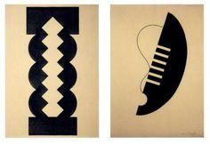 1928-Paris Abstractions-Isamu Noguchi