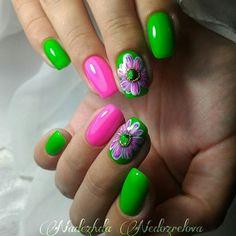 French nail designs spring gel new 55 green nail art designs nenuno creative Cute Nail Art Designs, Green Nail Designs, French Nail Designs, Winter Nail Designs, Short Nail Designs, Essie Nail Colors, Pretty Nail Colors, Pretty Nails, Green Nail Art