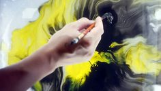 The SCENT Ink painting animation