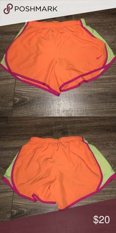 Nike Shorts Girl's Nike Shorts- Size Large: EUC! They do not have any tears or stains. They come from a smoke free home. Nike Bottoms Shorts