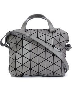 Shop Bao Bao Issey Miyake 'Tonneau' shoulder bag in Anastasia Boutique from the…