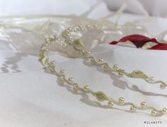 Stefana Greek Orthodox Wedding Crowns with Handmade by ClarityGR, €74.50