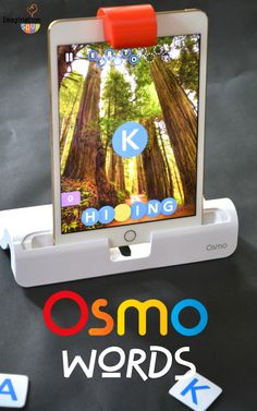 We've been loving Osmo Words - it's like hangman but more techie! (part of Osmo Gaming System for the iPad)