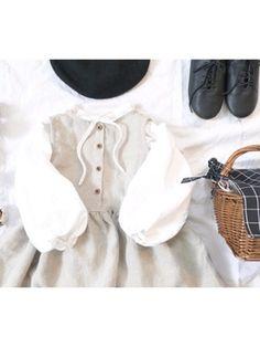 CHIIIICOさんのコーディネート Basic Tank Top, Kids Fashion, Tank Tops, How To Wear, Women, Halter Tops, Junior Fashion, Babies Fashion, Fashion Children