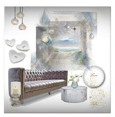 """""""Relaxing place"""" by zabead ❤ liked on Polyvore featuring interior, interiors, interior design, home, home decor, interior decorating, BD Fine, Worlds Away, LSA International and Crate and Barrel"""