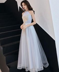 Prom Dresses For Teens, collectionsall?best=Gray tulle lace long prom dress gray tulle evening dress lass Online Store Powered by Storenvy , Short prom dresses and high-low prom dresses are a flirty and fun prom dress option. Gold Prom Dresses, Prom Dresses For Sale, Evening Dresses, Bridesmaid Dresses, Retro Prom Dress, Corset Dresses, Hijab Dress, Dress Prom, Dress Wedding
