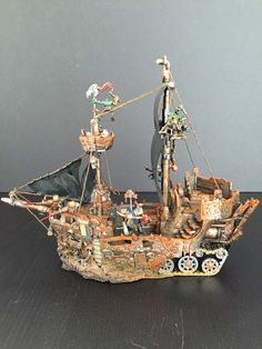 What's On Your Table: Ork Battlewagon Pirate Ship - Faeit 212: Warhammer 40k News and Rumors