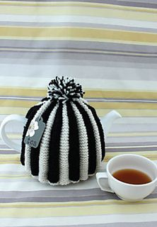 This clever tea cozy uses stranded colorwork in an unusual way: by intentionally pulling the alternate shade too tight, you create pleats! Top off any one of the three suggested shade combinations with a fun pom-pom. (Patons Yarns)