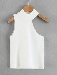 Shop Asymmetric Cut Out Shoulder Knit Top online. SHEIN offers Asymmetric Cut Out Shoulder Knit Top & more to fit your fashionable needs. Kleidung Design, Pinterest Fashion, Fashion Sewing, Fashion Boots, Ootd Fashion, Womens Fashion, Fashion Trends, Diy Clothes, Blouse Designs