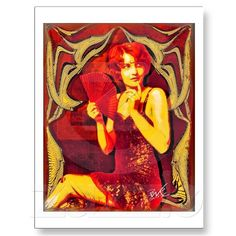 """Ziegfeld Girl"" Barbara Stanwyck Post Cards"