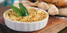 This spicy, creamy dip can be served with toast or pitas for a fun snack-time, appetizer or party hors d'oeuvres dish.