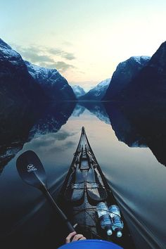 Fjord is a funny word and a great sight. Norway is the fjord capital of the world, and Tomasz Furmanek brings us great pictures of them from his kayak trips. Gopro, Vietnam Cruise, Into The Wild, Les Fjords, A Well Traveled Woman, Cruise Holidays, Ha Long Bay, All Nature, Nature Water