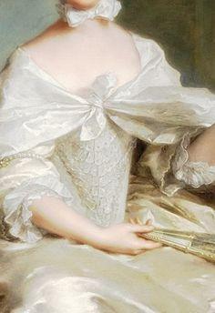 Jean-Marc Nattier  -  Portrait de la comtesse de Sérent 1754