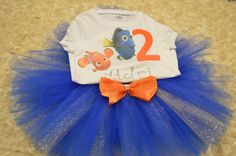 Finding Nemo tutu order or follow us on Facebook ; www.facebook.com/... #dory…