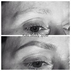Brows on point, high definition brows, HDbrows, before and after brows...