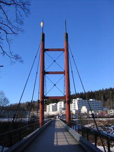 Bridge at Mitthögskolan Sundsvall
