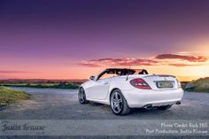 """#Mercedes #SLK 300 From the blog post """"Why do we edit our photographs?"""" http://www.justinkrause.co.uk/why-do-we-edit-our-photographs/  Award Winning International Wedding & Portrait Photographers - Photography by Justin and Emily"""