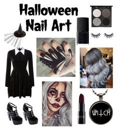 """""""Wicked Witch"""" by silverbell7 on Polyvore featuring beauty, Gorgeous Cosmetics and NARS Cosmetics"""