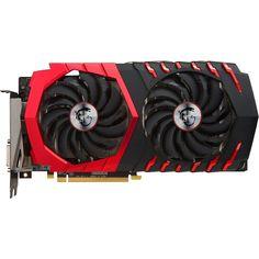 MSI - AMD Radeon RX 470 4GB GDDR5 PCI Express 3.0 Graphics Card - Black/Red, RX470GAMINGX4G