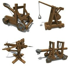 Siege weapons