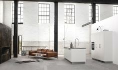 Kitchens as lofts