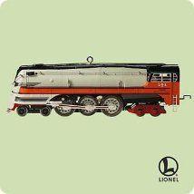 2004 Lionel 1939 Hiawatha Steam Locomotive Hallmark Ornament.