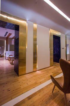 Hotel Portugal Lisboa Arquitetura: Cristina Santos e Silva #iluminacao #lightingdesign #LightDesignExporlux #arquitetura #luminarias #decoracao #designdeinteriores